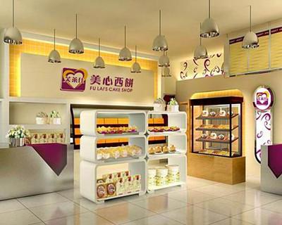 在店铺装修方面,知名蛋糕店会安排统一装修和设计,像元祖会协助